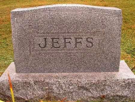JEFFS, FAMILY HEADSTONE - Madison County, Iowa | FAMILY HEADSTONE JEFFS