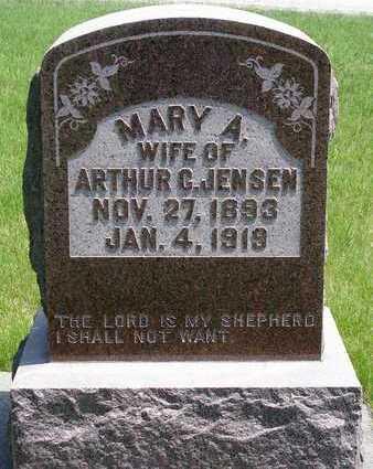 JENSEN, MARY ANNA - Madison County, Iowa   MARY ANNA JENSEN