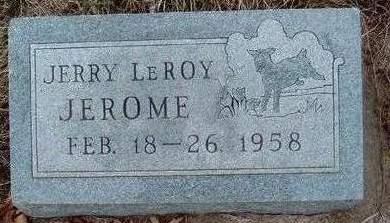 JEROME, JERRY LEROY - Madison County, Iowa | JERRY LEROY JEROME