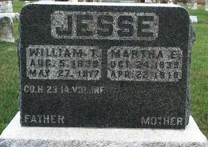 JESSE, WILLIAM THOMAS - Madison County, Iowa | WILLIAM THOMAS JESSE