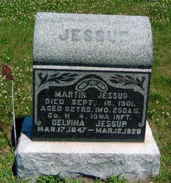 JESSUP, DELVINA - Madison County, Iowa | DELVINA JESSUP