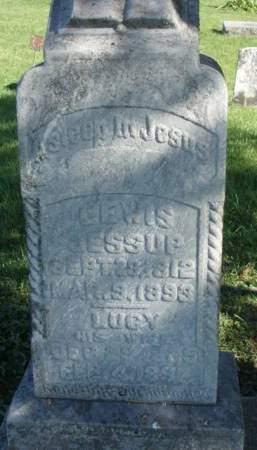JESSUP, LUCY JANE - Madison County, Iowa | LUCY JANE JESSUP