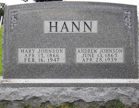 HANN, ANDREW JOHNSON - Madison County, Iowa | ANDREW JOHNSON HANN