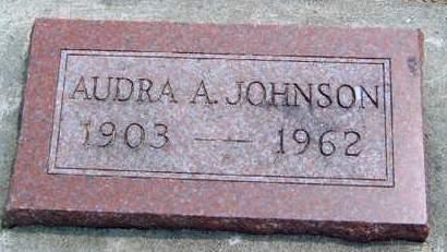 JOHNSON, AUDRA A. - Madison County, Iowa   AUDRA A. JOHNSON