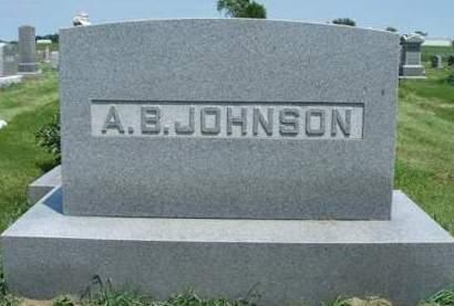 JOHNSON, ALBERT BARNES - Madison County, Iowa | ALBERT BARNES JOHNSON