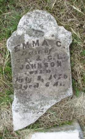 JOHNSON, EMMA C. - Madison County, Iowa | EMMA C. JOHNSON