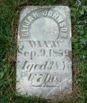 JOHNSON, ELIJAH - Madison County, Iowa | ELIJAH JOHNSON