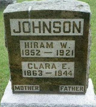 JOHNSON, CLARA ELVA - Madison County, Iowa | CLARA ELVA JOHNSON