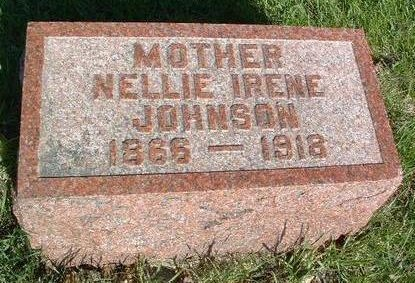JOHNSON, NELLIE IRENE - Madison County, Iowa | NELLIE IRENE JOHNSON