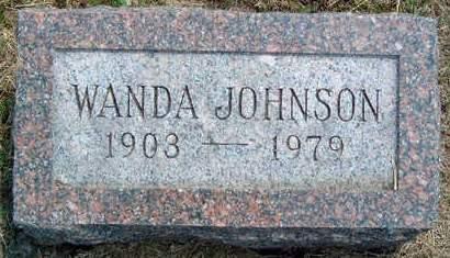 JOHNSON, WANDA - Madison County, Iowa   WANDA JOHNSON