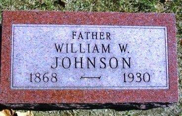 JOHNSON, WILLIAM WARNER - Madison County, Iowa | WILLIAM WARNER JOHNSON