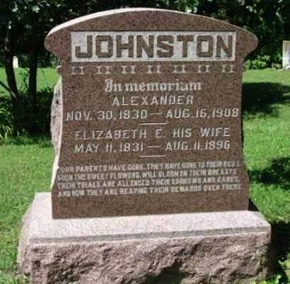 JOHNSTON, ALEXANDER W. - Madison County, Iowa | ALEXANDER W. JOHNSTON