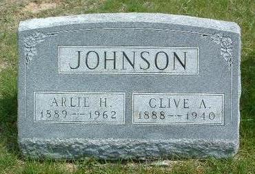 JOHNSON, ARLIE H. - Madison County, Iowa | ARLIE H. JOHNSON