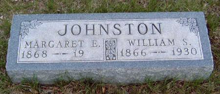 JOHNSTON, MARGARET E. - Madison County, Iowa   MARGARET E. JOHNSTON