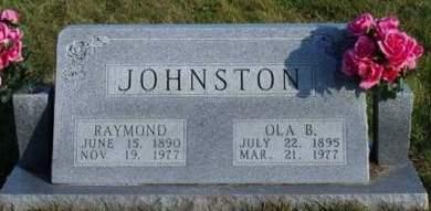 JOHNSTON, RAYMOND - Madison County, Iowa | RAYMOND JOHNSTON