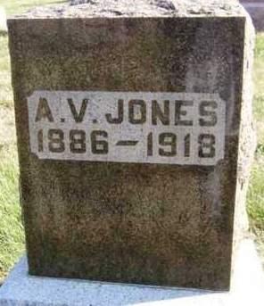 JONES, ALBERT VINCENT - Madison County, Iowa | ALBERT VINCENT JONES