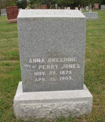 JONES, ANNA - Madison County, Iowa | ANNA JONES