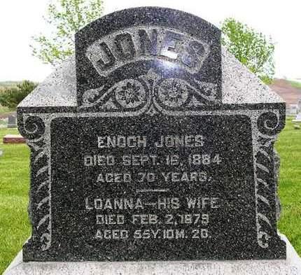 JONES, ENOCH - Madison County, Iowa | ENOCH JONES