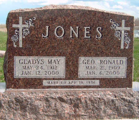JONES, GEORGE RONALD - Madison County, Iowa | GEORGE RONALD JONES
