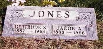 JONES, JACOB ALBERT - Madison County, Iowa | JACOB ALBERT JONES
