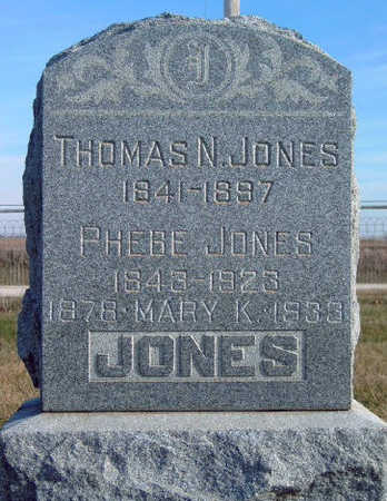 JONES, MARY KATHERINE - Madison County, Iowa | MARY KATHERINE JONES