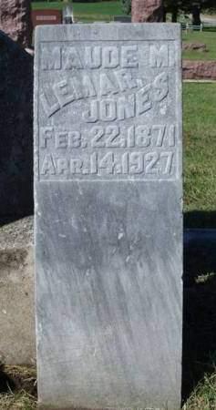 JONES, MAUDE M. - Madison County, Iowa | MAUDE M. JONES