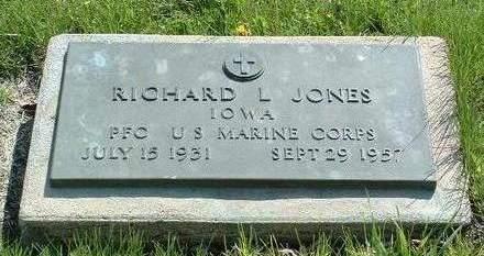 JONES, RICHARD LLOYD - Madison County, Iowa   RICHARD LLOYD JONES