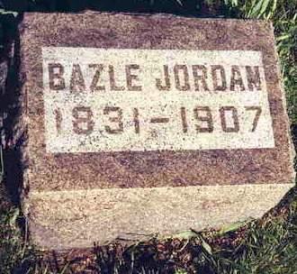 JORDAN, BAZLE - Madison County, Iowa   BAZLE JORDAN
