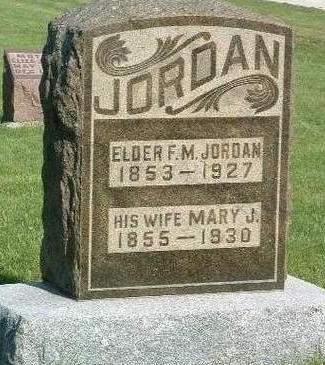 JORDAN, FRANCIS MARION - Madison County, Iowa | FRANCIS MARION JORDAN