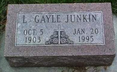 JUNKIN, LAURA GAYLE - Madison County, Iowa | LAURA GAYLE JUNKIN
