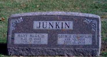 JUNKIN, GEORGE THOMPSON - Madison County, Iowa | GEORGE THOMPSON JUNKIN
