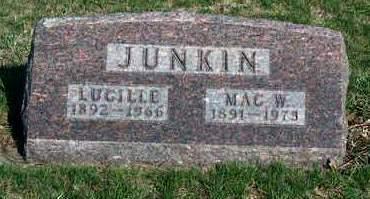 JUNKIN, MAC WATSON - Madison County, Iowa | MAC WATSON JUNKIN