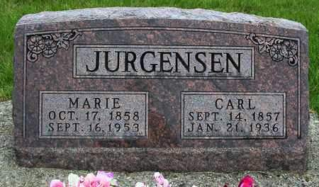 JURGENSEN, MARIE CATHRINA - Madison County, Iowa | MARIE CATHRINA JURGENSEN