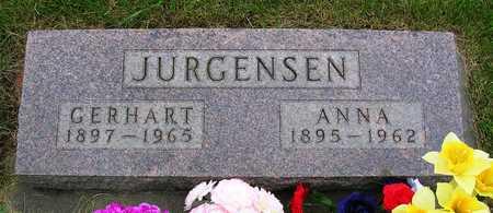 JURGENSEN, GERHART HANS HENRY - Madison County, Iowa | GERHART HANS HENRY JURGENSEN