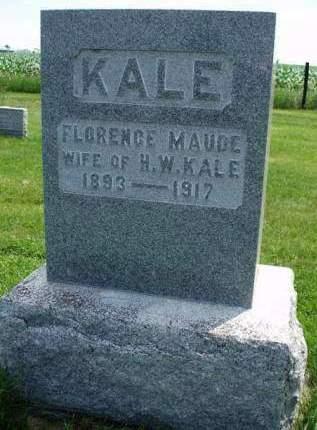 KALE, FLORENCE MAUDE - Madison County, Iowa | FLORENCE MAUDE KALE