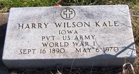 KALE, HARRY WILSON - Madison County, Iowa   HARRY WILSON KALE