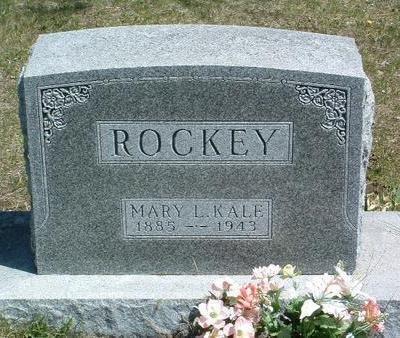 KALE, MARY LYNCH - Madison County, Iowa   MARY LYNCH KALE
