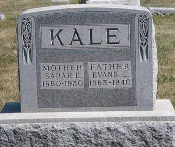 KALE, SARAH ELIZABETH - Madison County, Iowa | SARAH ELIZABETH KALE