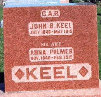 KEEL, JOHN B. - Madison County, Iowa | JOHN B. KEEL
