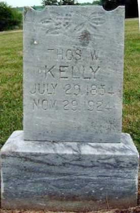 KELLY, THOMAS WILLIAM - Madison County, Iowa | THOMAS WILLIAM KELLY