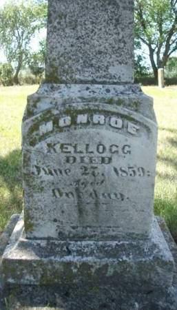 KELLOGG, MONROE - Madison County, Iowa | MONROE KELLOGG