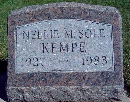 KEMPE, NELLIE MAXINE - Madison County, Iowa   NELLIE MAXINE KEMPE