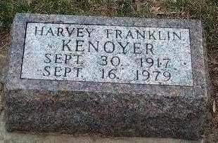 KENOYER, HARVEY FRANKLIN - Madison County, Iowa | HARVEY FRANKLIN KENOYER