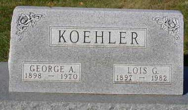 KOEHLER, LOIS G. - Madison County, Iowa | LOIS G. KOEHLER