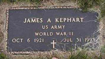 KEPHART, JAMES ALLEN - Madison County, Iowa   JAMES ALLEN KEPHART