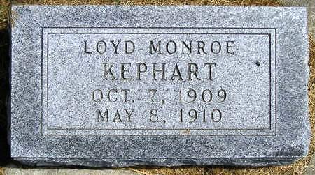 KEPHART, LOYD MONROE - Madison County, Iowa   LOYD MONROE KEPHART