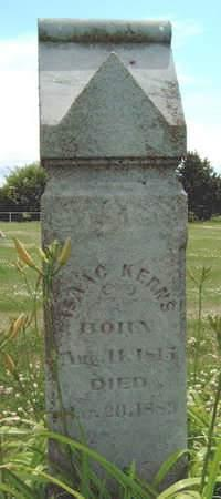 KERNS, ISAAC - Madison County, Iowa | ISAAC KERNS
