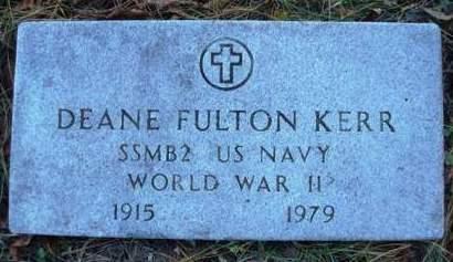KERR, DEANE FULTON - Madison County, Iowa | DEANE FULTON KERR