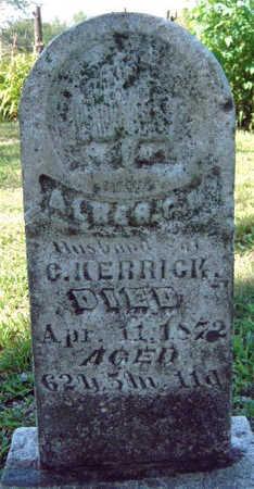 KERRICK, ALBERT - Madison County, Iowa | ALBERT KERRICK