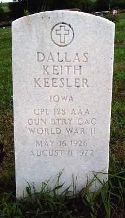KEESLER, DALLAS KEITH - Madison County, Iowa | DALLAS KEITH KEESLER